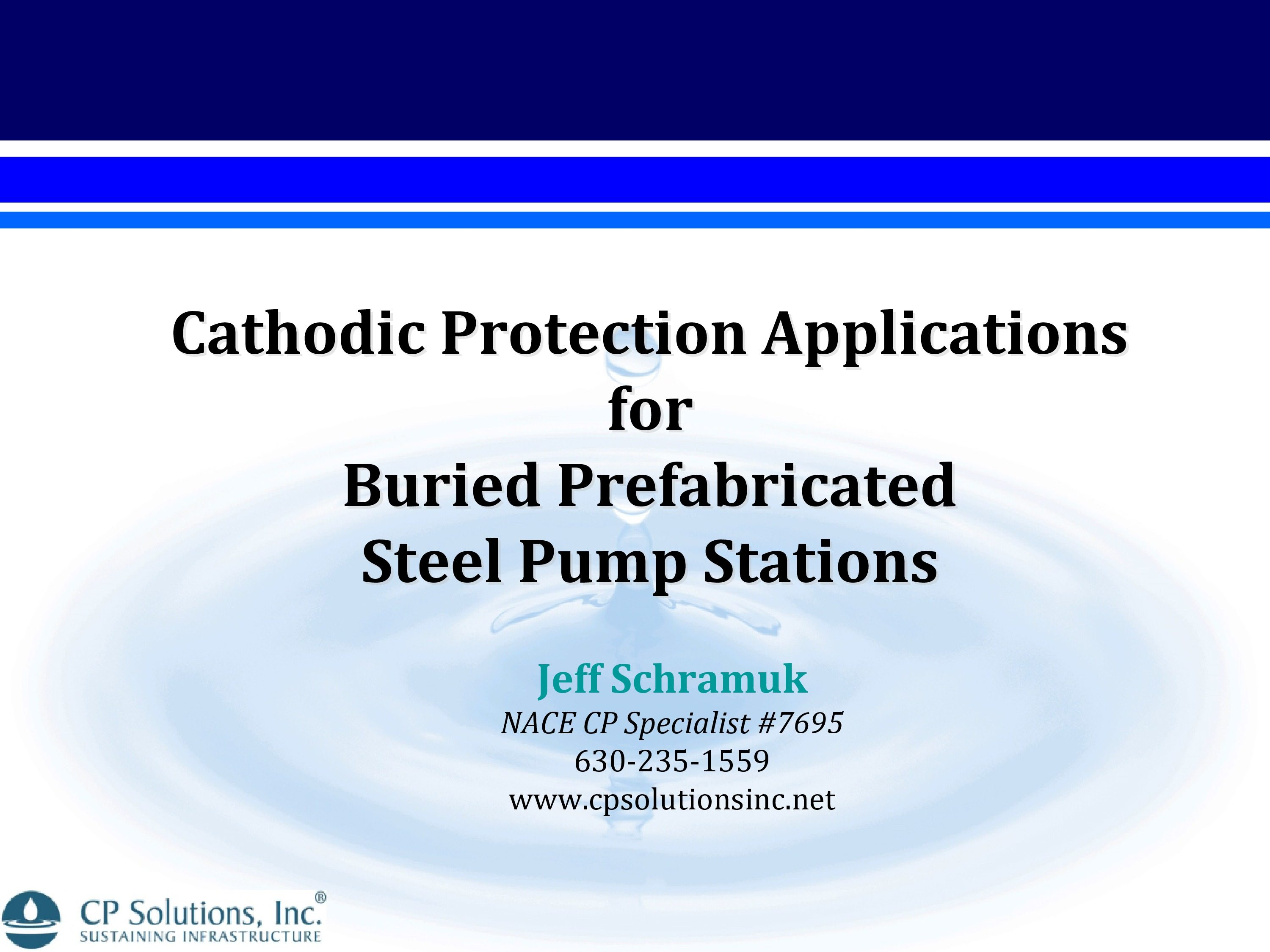 Buried Pump Station CP-0